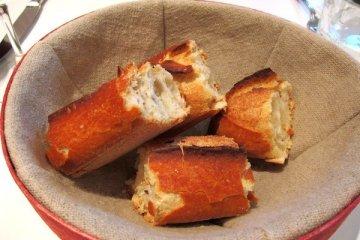 The bread!