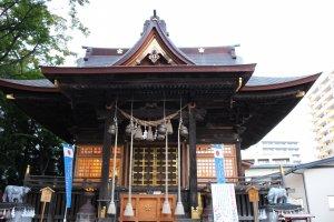 Tsutsujigaoka Tenmangu Shrine, Sendai