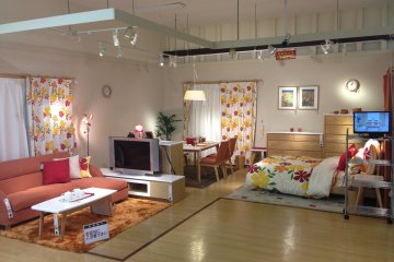 <p>The home furniture showcase reminds me of those that Ikea has, but NItori&#39;s offerings seem to be a better mixture of quality, design and price</p>