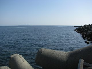 Sagami Bay on a fine spring day