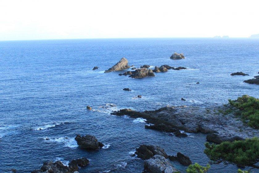 Views from the summit, Shikinejima Island