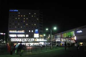 Hotel at night