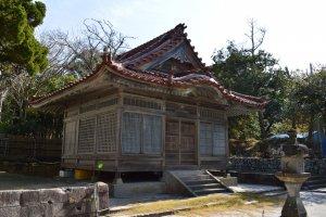 Monoimina no Mikoto Shrine, Kozushima Island