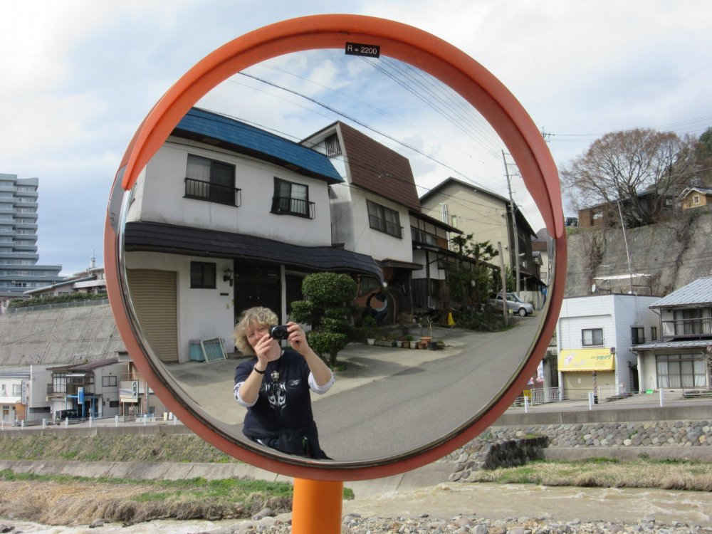 The street of Yudanaka onsen