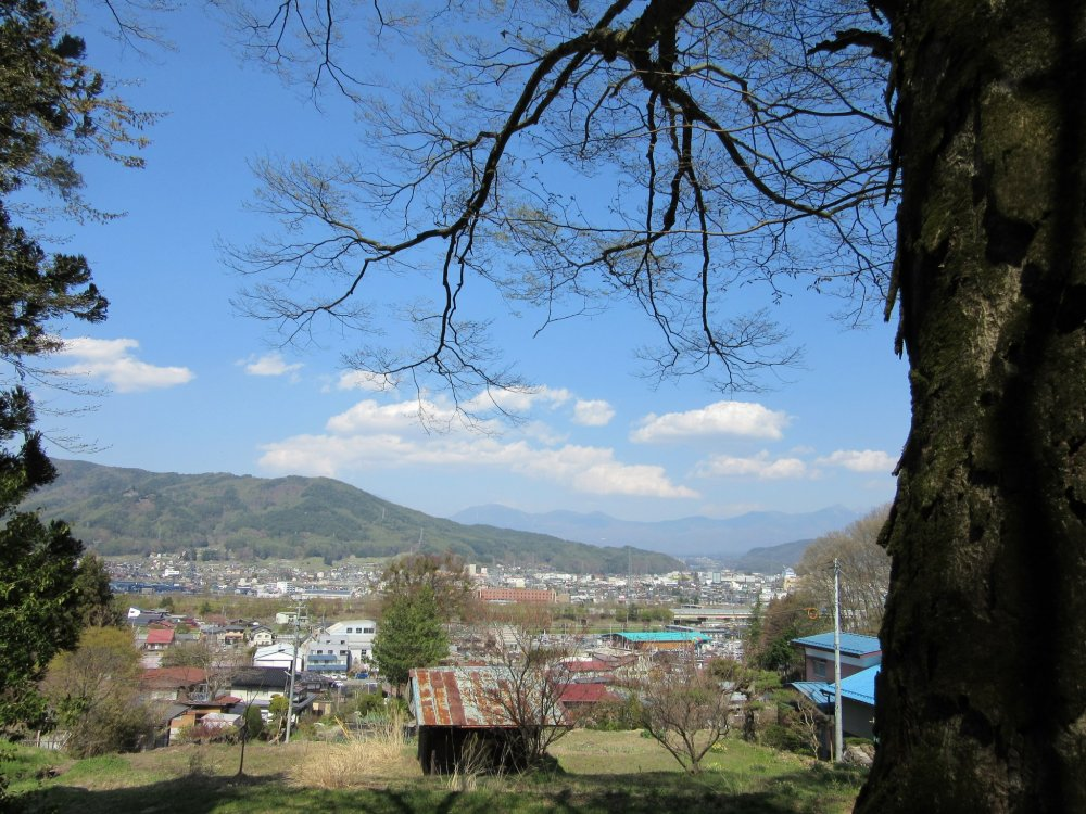 The view in Nagano Prefecture