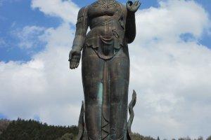 Bronze Kannon of Yudanaka Onsen