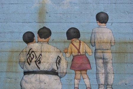 Искусство на улицах Японии
