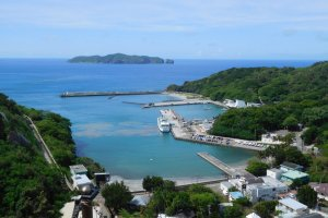 Oki Port, Hahajima Island