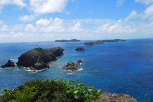 Ocean views, Hahajima Island
