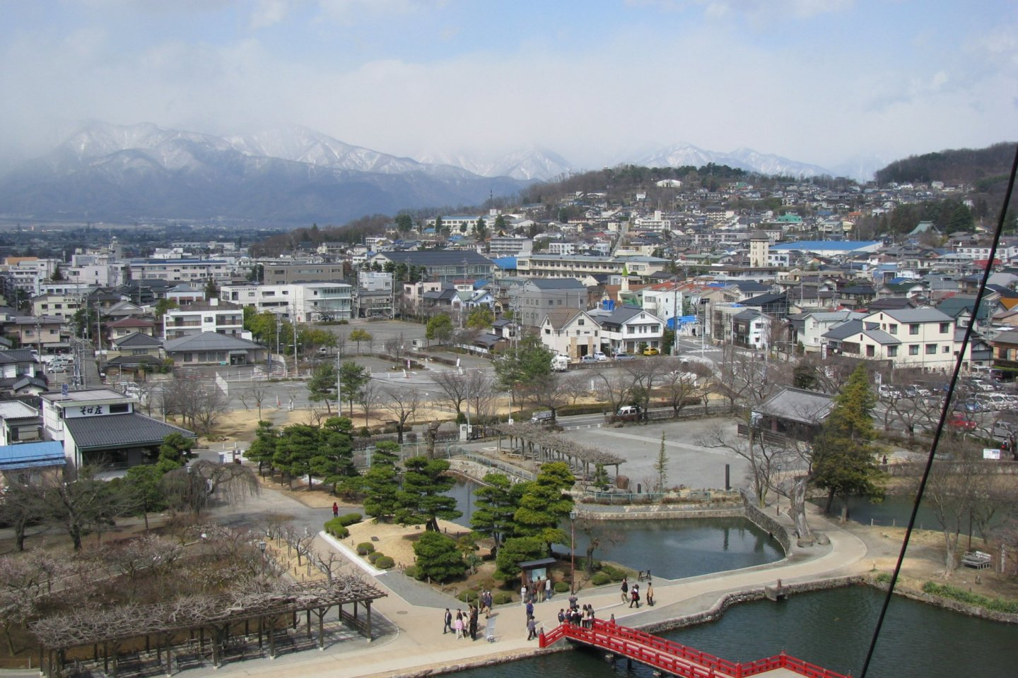 The view of Matsumoto