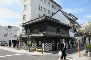 Well preserved houses of the Edo period