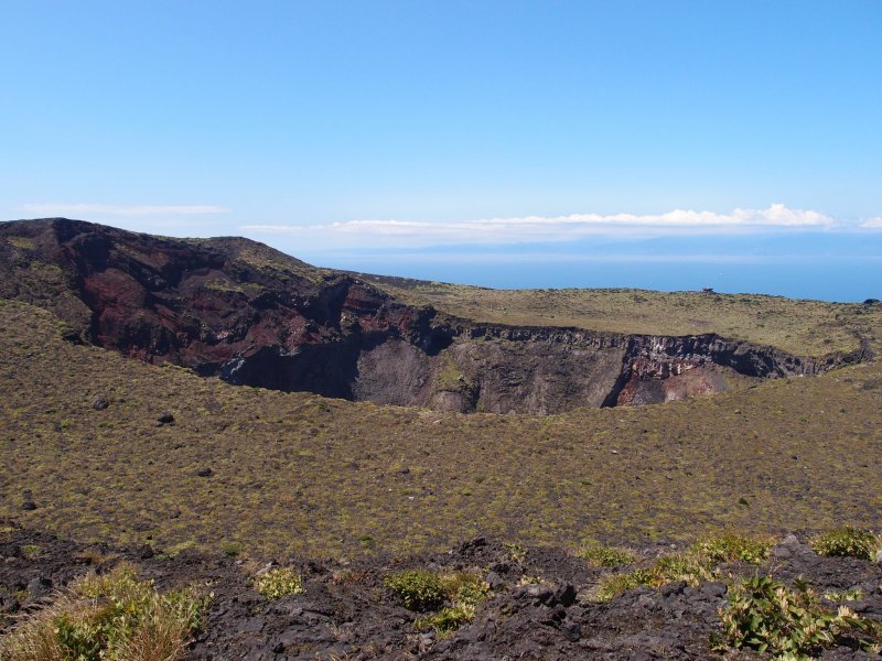 Crater, Oshima Island