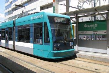 Другой вид трамвая