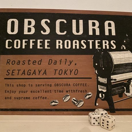 Cafe Obscura in Sangenjaya