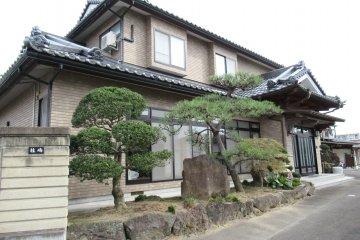 Традиционный японский дом в районе Яотомэ