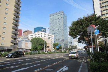Широкие улицы Сендая