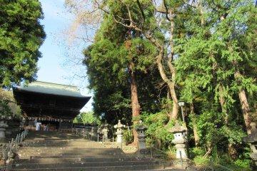 Храм Осаки Хатимангу
