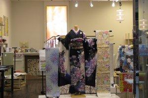 Kimono shop in Nara