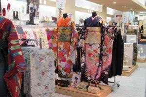 Kimono shop in Sendai