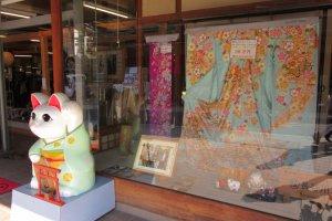 Kimono shop in Narita