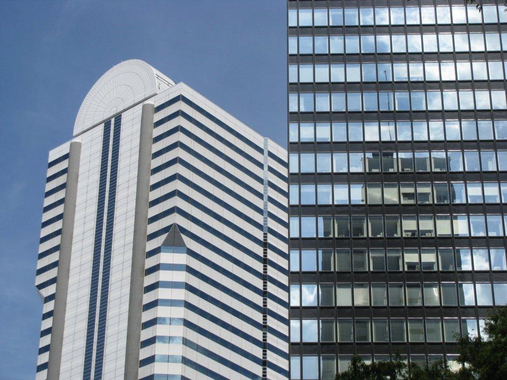 Современные здания Токио