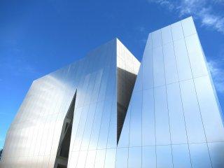 Здание музея Сумида Хокусай выглядит футуристическим и не имеет чисто национальных черт