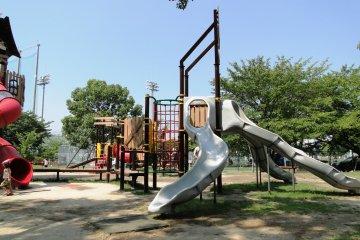 Kirara Park's playground is heaven for kids