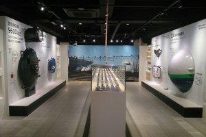 Some of the indoor displays
