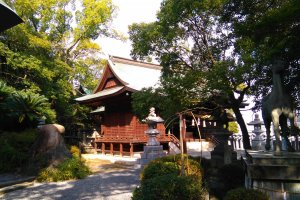 Henro temple