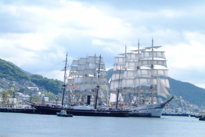 One of the tall ships in all its glory