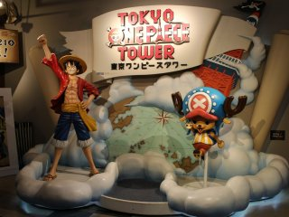 """One Piece"" theme park in Tokyo Tower"