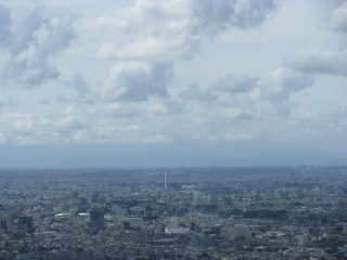 A cloudy day in Tokyo