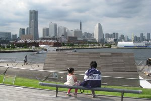 The view from Osanbashi Pier