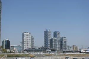 Yokohama is a spacious modern city