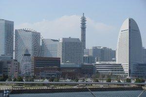 The view of Minato Mirai 21