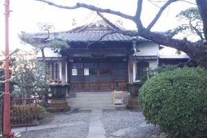 Ekouin temple, home to Hoteison