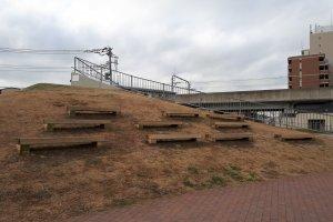 Hillside benches