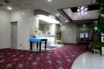 Spacious and comfortable lobby