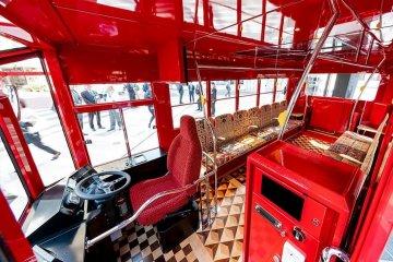 Pop and retro interior