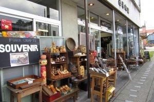 Rondo Antique shop in Nikko