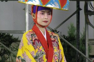 Beautiful costume from Okinawa