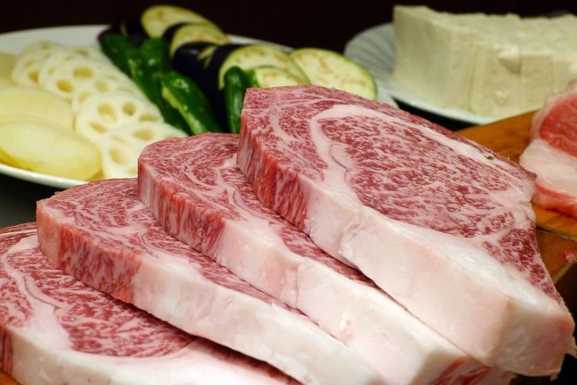 The event showcases a range of meat dishes from around the world