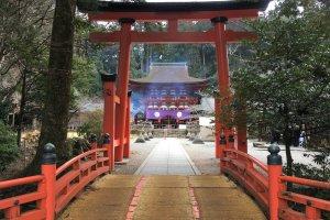 Niutsuhime-jinja Shrine