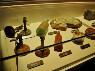 Objects rescued from the sunk ship can also be found in the permanent exhibition.