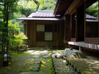 老欅莊充滿懷舊日本民居建築風格