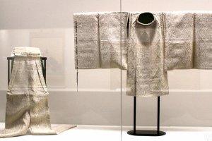 Старинная мужская одежда в Музее города Сендай