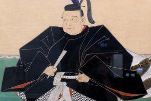 Портрет Датэ Масамунэ в традиционной одежде 17 века