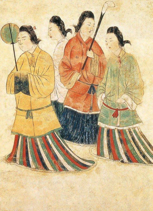 Репродукция фрески погребального зала