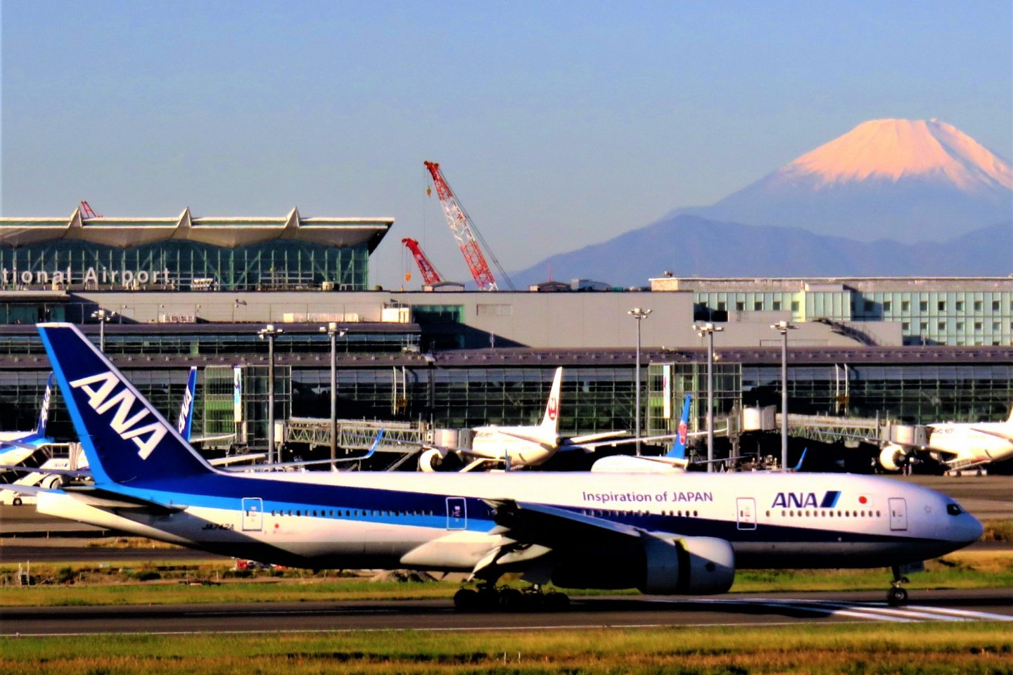 Come face to face with Mt Fuji with ANA