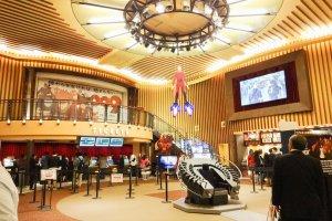 Shinjuku Wald 9 cinema